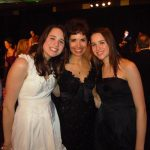 April 2, 2011 Time For Lyme Gala  (C) Diane Blanchard, Co-Founder, Time For Lyme with twin daughters.