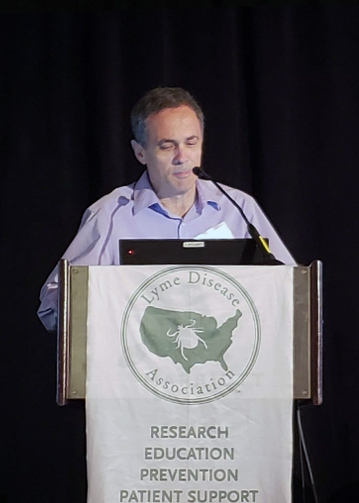 Neil Spector, MD at 2018 LDA/Columbia Lyme Conference