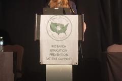 Shannon Delaney, MD - Oct. 27 & 28, 2018, LDA/Columbia Annual Scientific Conference (LDA file photo)