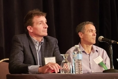 William Robinson, MD, PhD & Neil Lee Spector, MD - Oct. 27 & 28, 2018, LDA/Columbia Annual Scientific Conference (LDA file photo)