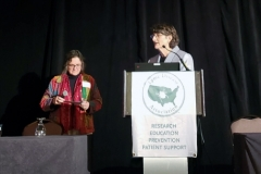 Beatrice Szantyr, MD & Elizabeth L. Maloney, MD - Oct. 27 & 28, 2018, LDA/Columbia Annual Scientific Conference (LDA file photo)