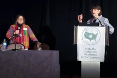 Beatrice Szantyr, MD & Elizabeth L. Maloney, MD - Oct. 27 & 28, 2018, LDA/Columbia Annual Scientific Conference (LDA file photo)