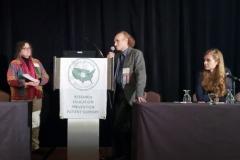 Beatrice Szantyr, MD, Jaroslav Flegr, PhD & Shannon Delaney, MD - Oct. 27 & 28, 2018, LDA/Columbia Annual Scientific Conference (LDA file photo)