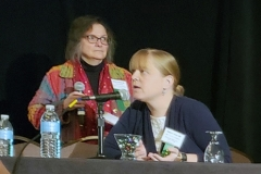 Beatrice Szantyr, MD & Rebecca Reece, MD - Oct. 27 & 28, 2018, LDA/Columbia Annual Scientific Conference (LDA file photo)