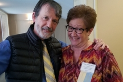 Brian Fallon, MD & Paula Jackson Jones, President, MLDSA - Oct. 27 & 28, 2018, LDA/Columbia Annual Scientific Conference (LDA file photo)
