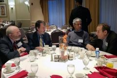 Kenneth Liegner, MD, Brian Fallon, MD, Joseph Burrascano, MD, & Thomas A. Platts-Mills, PhD - Oct. 27 & 28, 2018, LDA/Columbia Annual Scientific Conference (LDA file photo)
