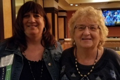 Oct. 27 & 28, 2018, Pat Smith President with Lisas Larisa, former RI Chapter President. 1 LDA/Columbia Annual Scientific Conference
