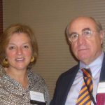 (L to R) Deborah Siciliano, Co-President, Lyme Research Alliance and Dr. Kenneth Liegner, MD, LDA Professional & Scientific Advisory Board ~  September 29, 2012. LDA/Columbia Annual Scientific Conference ~  (Photo: Jessica Harper Thomson)