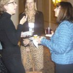 Conference networking ~  September 29, 2012. LDA/Columbia Annual Scientific Conference ~  (Photo: Jessica Harper Thomson)