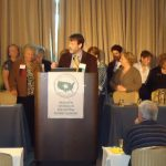 October 1, 2011 Lyme and Tick-Borne Diseases Conference, Philadelphia, PA Brian A. Fallon, MD, Director, Lyme & Tick-Borne Diseases Research Center, Columbia University surprises Pat Smith, LDA President, with the