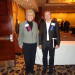 (L) Pat Smith, President, Lyme Disease Association and (R) Reinhardt K. Straubinger, PhD