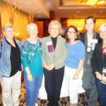 From Left to Right:  Karen Gaudian, Ridgefield Lyme Disease Task Force, Pam Lampe, LDA Vice President, Pat Smith, LDA President, Julie Merolla, LDA RI Chapter Chair, and Canadian Lyme Activists
