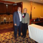 (L) Ray Sticker, MD former President of ILADS and (R) Pat Smith, LDA President