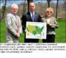 NY Congressman John Hall's April 17, 2009 Press Conference, Dutchess County