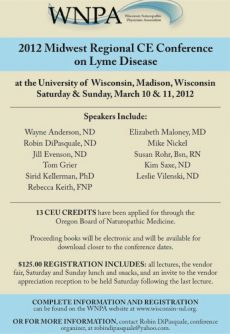 Successful Naturopathic Lyme Conference