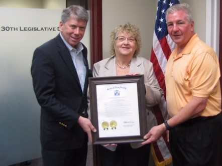 2017 NJ Proclamation Assemblymen Dave Rible, Sean Kean and Patricia Smith