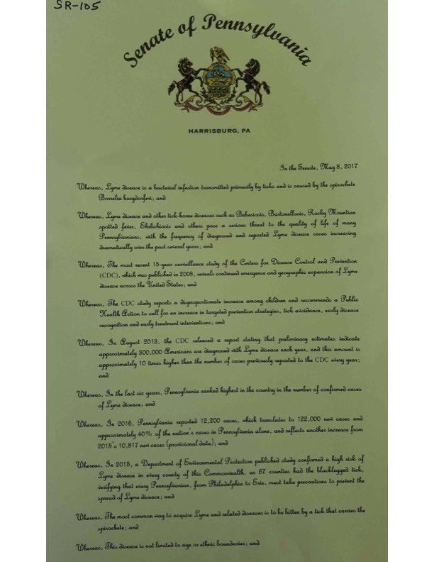 PA Senate Resolution Pg1