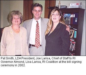 phoca thumb l 2002 RIBillLarisaRICoalitionLDA