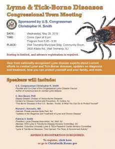 UPDATED Lyme and Tick-Borne Disease Town Meeting 5-29-19
