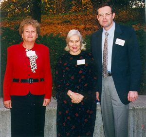 Pat Smith, LDA President, Polly Murray & Corey Lakin, 2nd VP, LDA