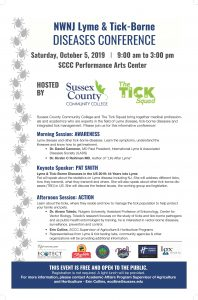 NWNJ Lyme & Tick-Borne Diseases Conference