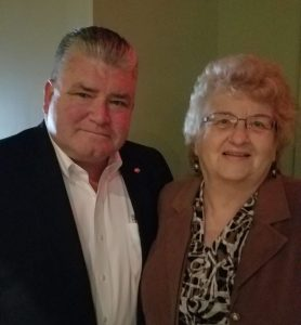 NJ State Senator Steven V. Oroho (NJ-24) and Pat Smith, LDA President