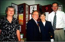 Pat Smith, Dr. Nick Harris, Dr. Terry MacKnight, Corey Lakin Congressional Lyme Disease Forum 1999