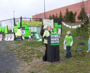 Pat Smith, Westchester Lyme Rally 2006
