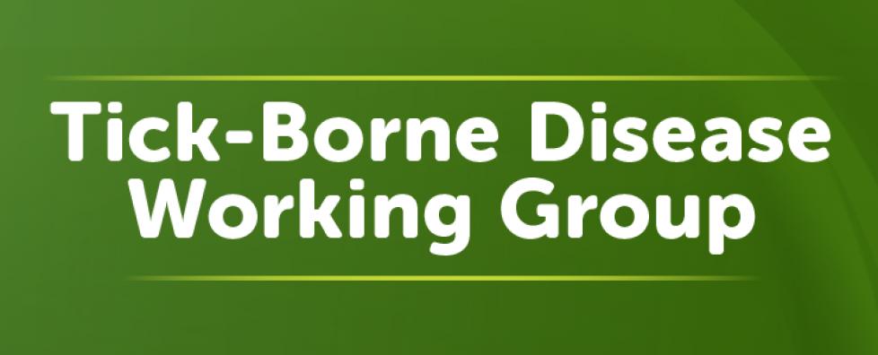 Federal Tick-Borne Disease Working Group (TBDWG)