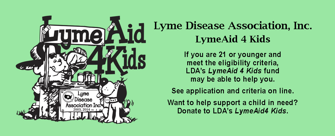 LymeAid 4 Kids Slider