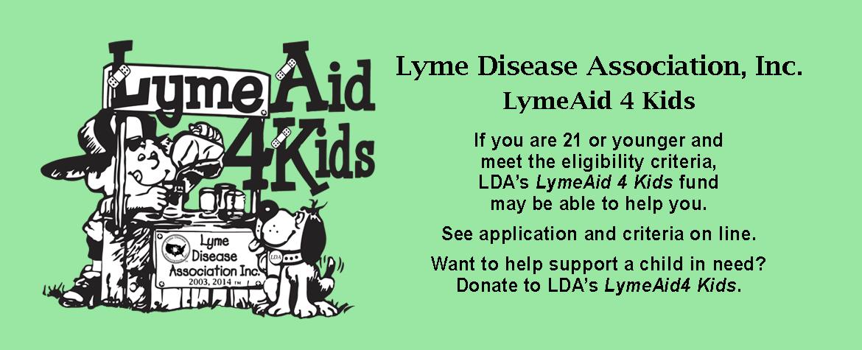 LymeAid 4 Kids Slider